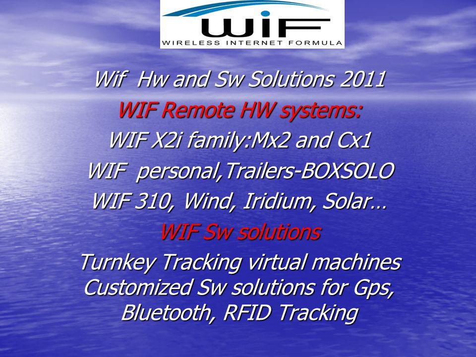 WIF personal,Trailers-BOXSOLO WIF 310, Wind, Iridium, Solar…