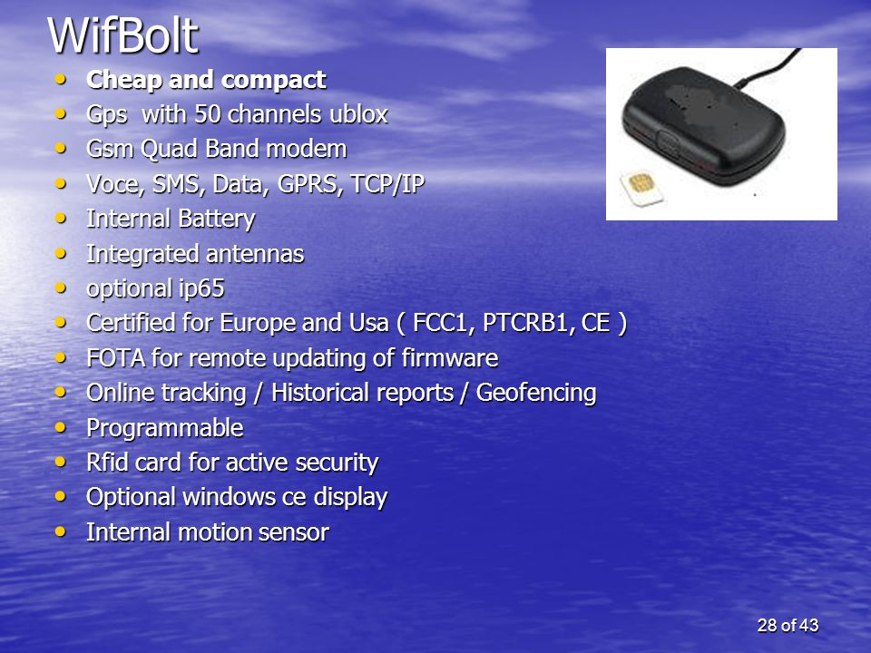 WifBolt Cheap and compact Gps with 50 channels ublox