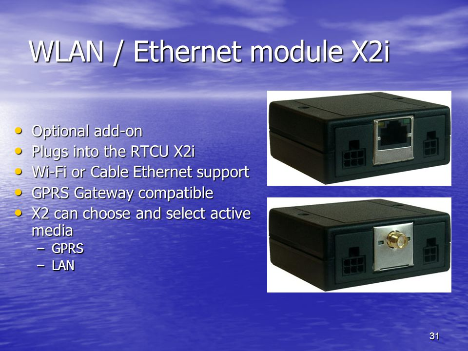 WLAN / Ethernet module X2i