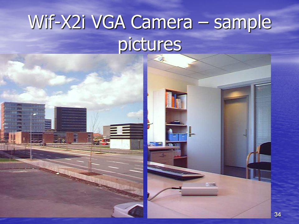 Wif-X2i VGA Camera – sample pictures