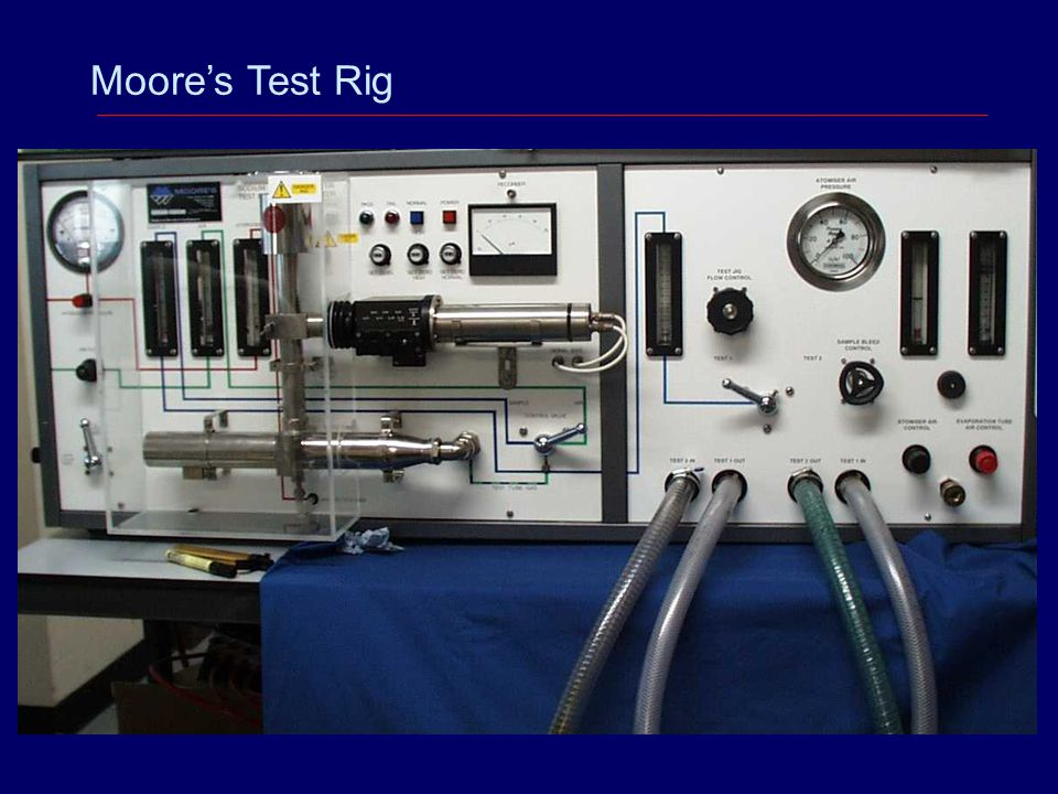 Moore's Test Rig