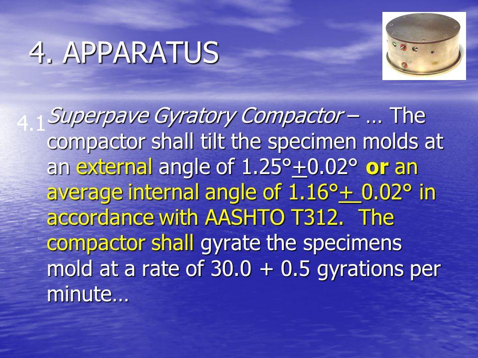 4. APPARATUS