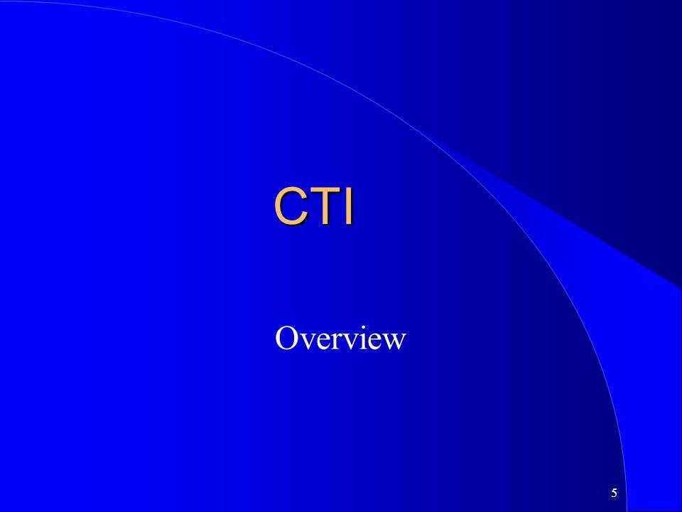 CTI Overview