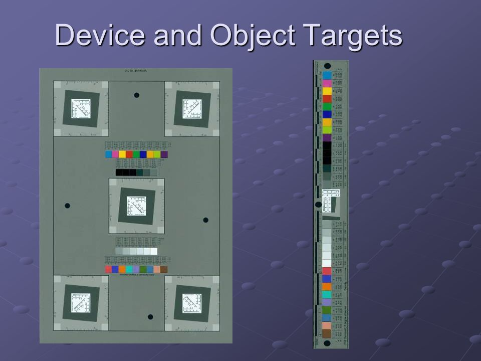 Device and Object Targets