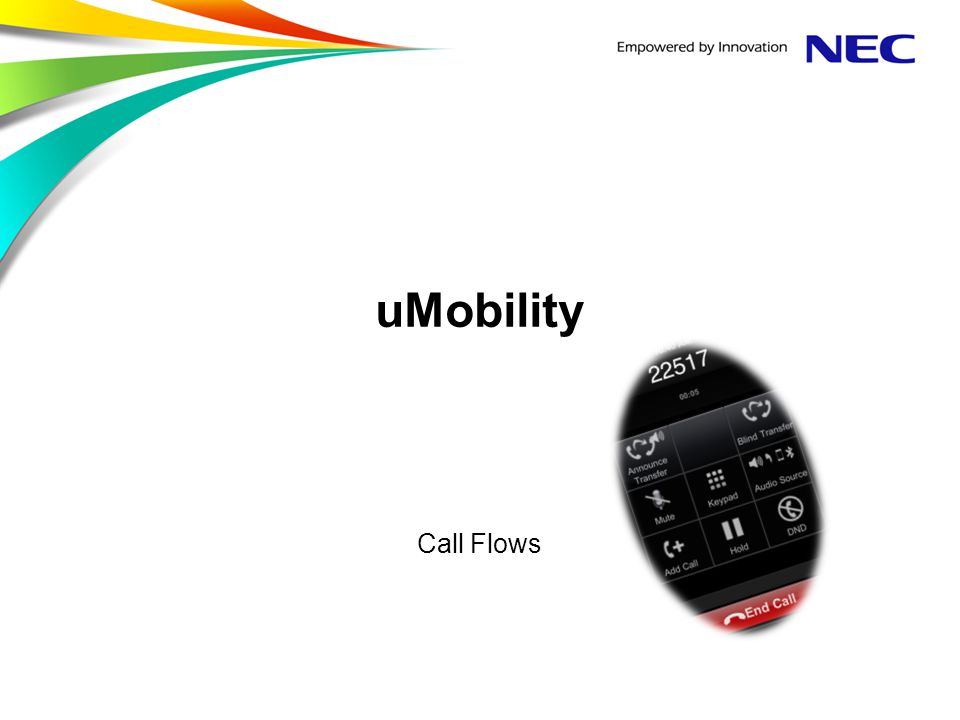 uMobility Call Flows