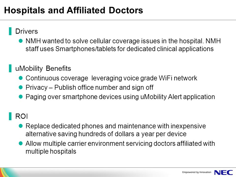 Hospitals and Affiliated Doctors