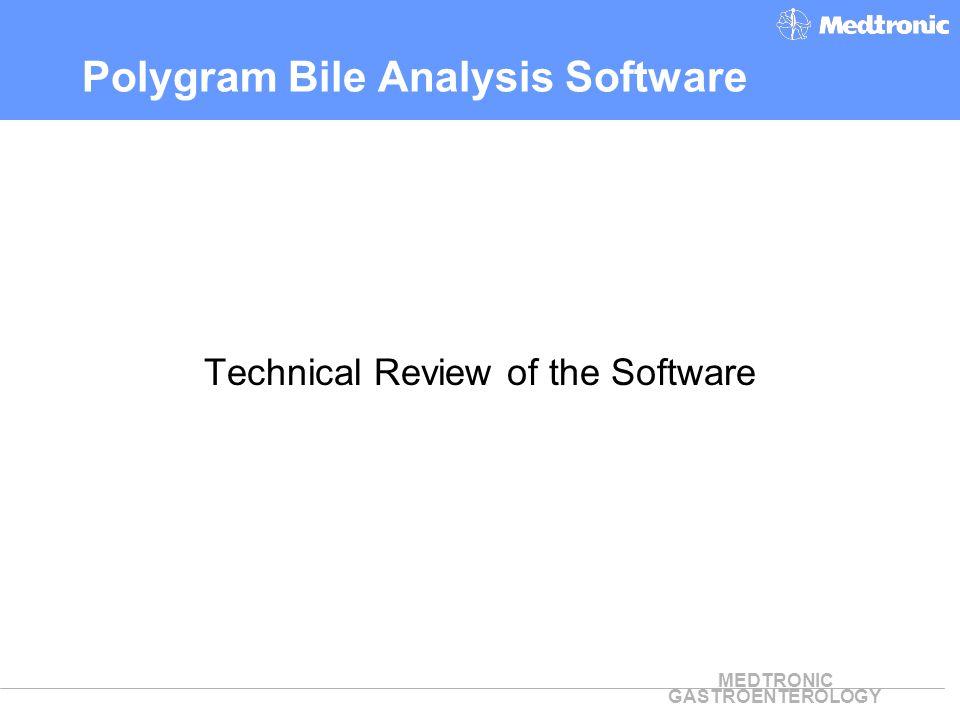 Polygram Bile Analysis Software