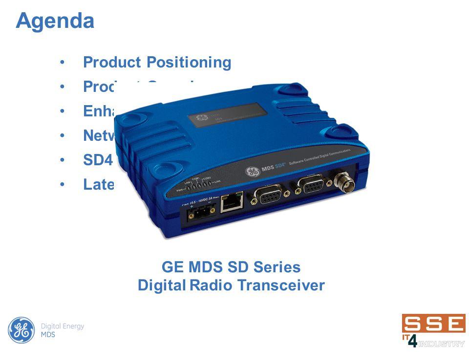 GE MDS SD Series Digital Radio Transceiver