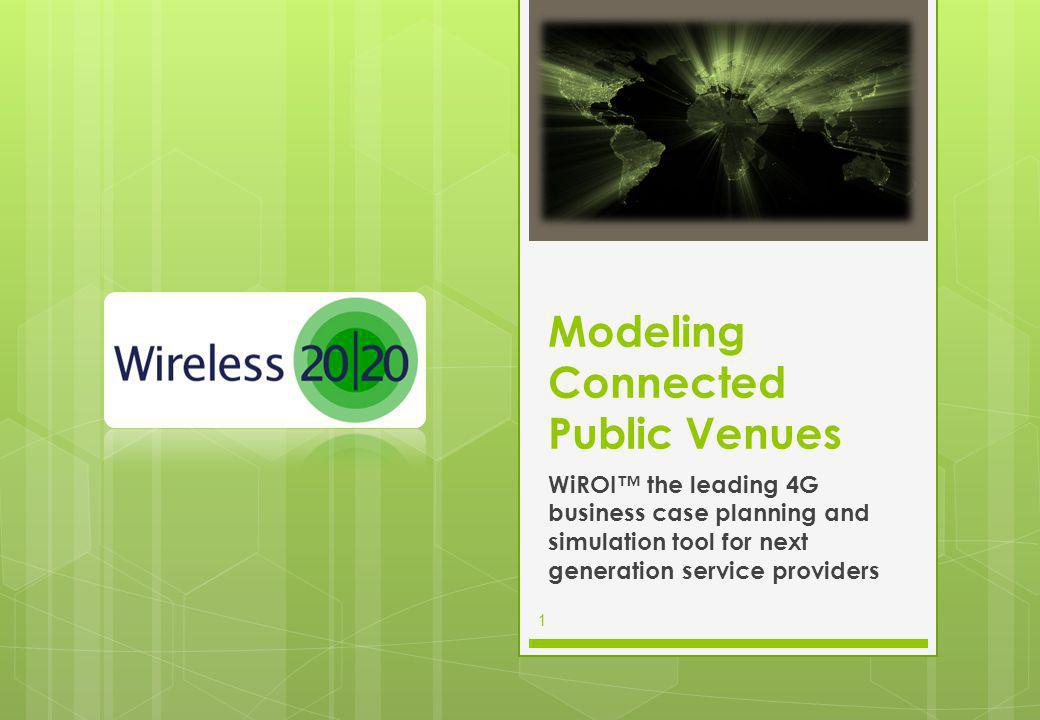 Modeling Connected Public Venues