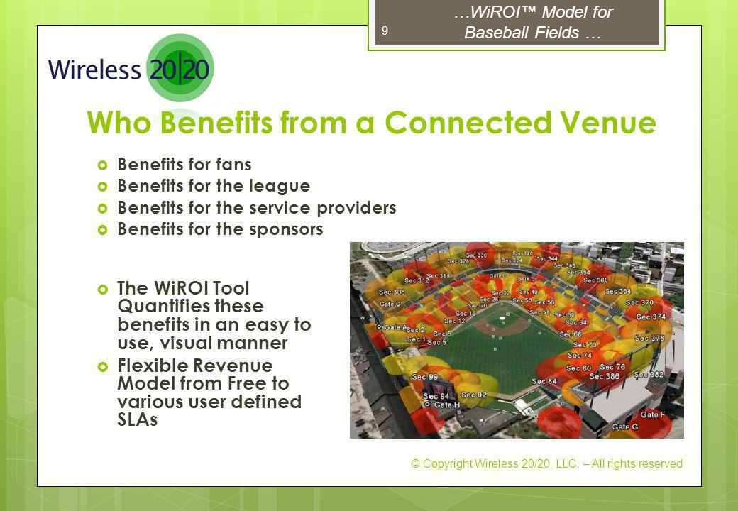 Who Benefits from a Connected Venue