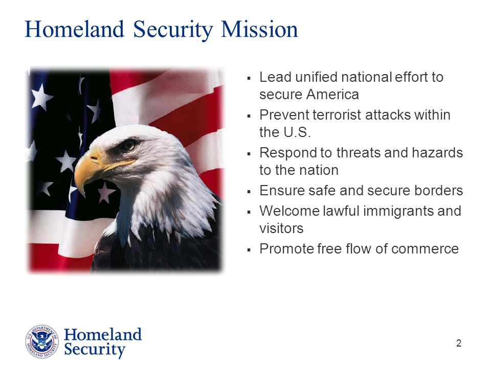 Homeland Security Mission