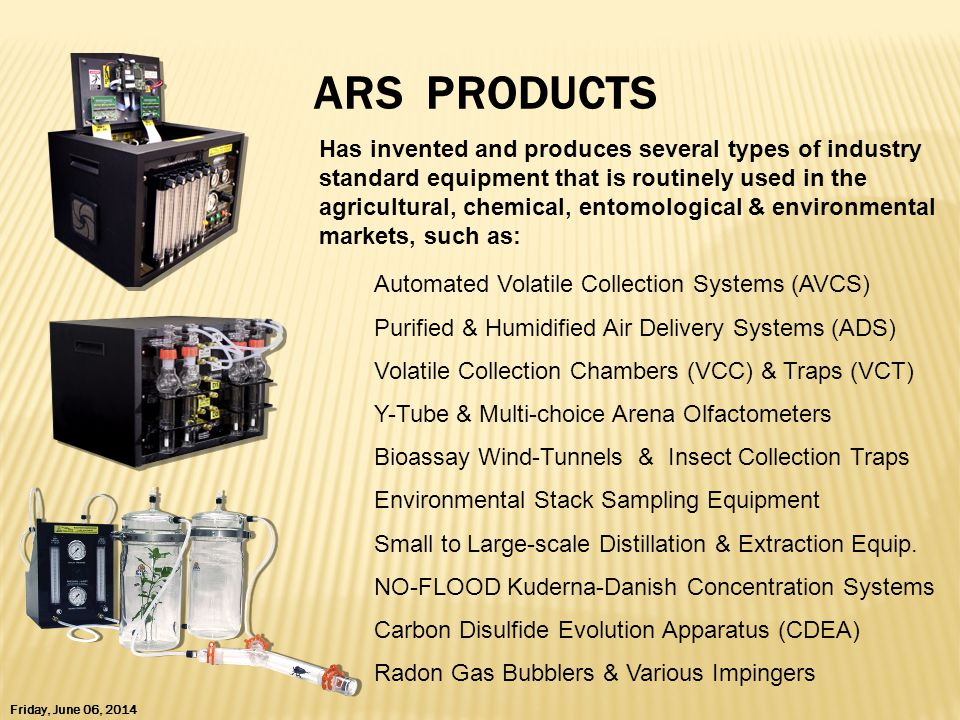 ARS PRODUCTS