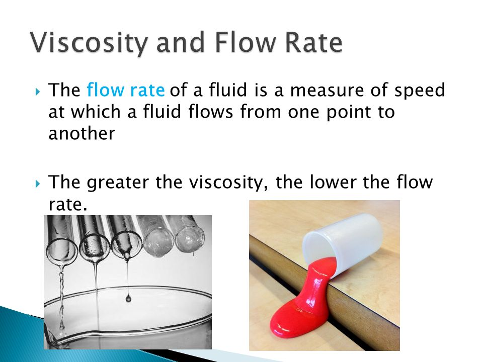 Viscosity and Flow Rate