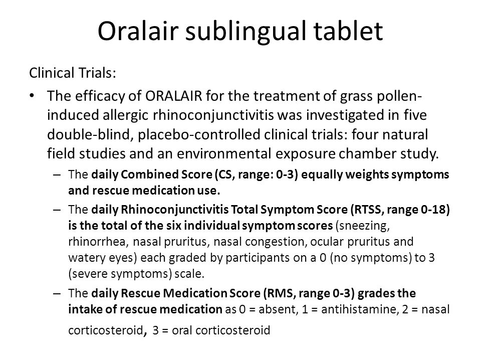 Oralair sublingual tablet