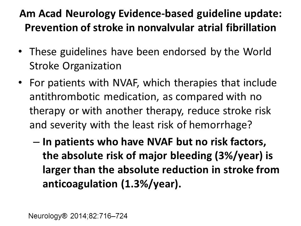 These guidelines have been endorsed by the World Stroke Organization
