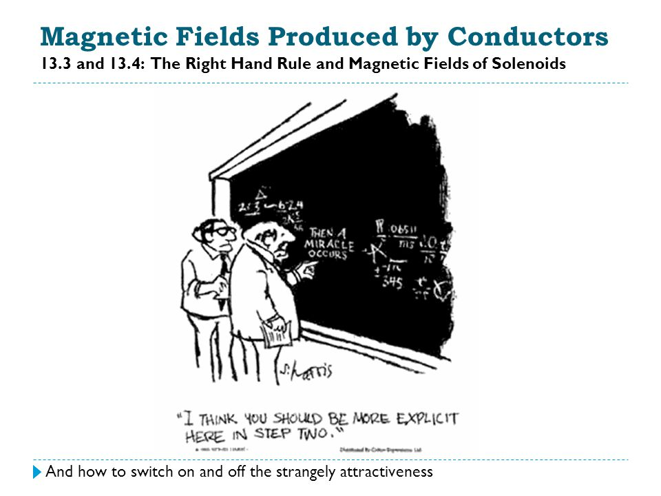 Magnetic Fields Produced by Conductors