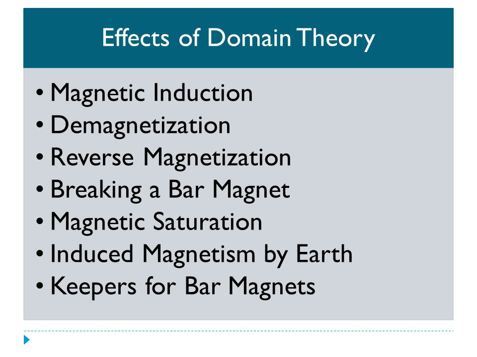 Effects of Domain Theory