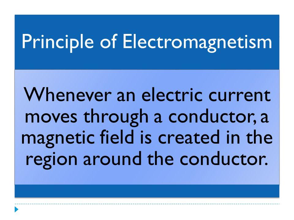 Principle of Electromagnetism