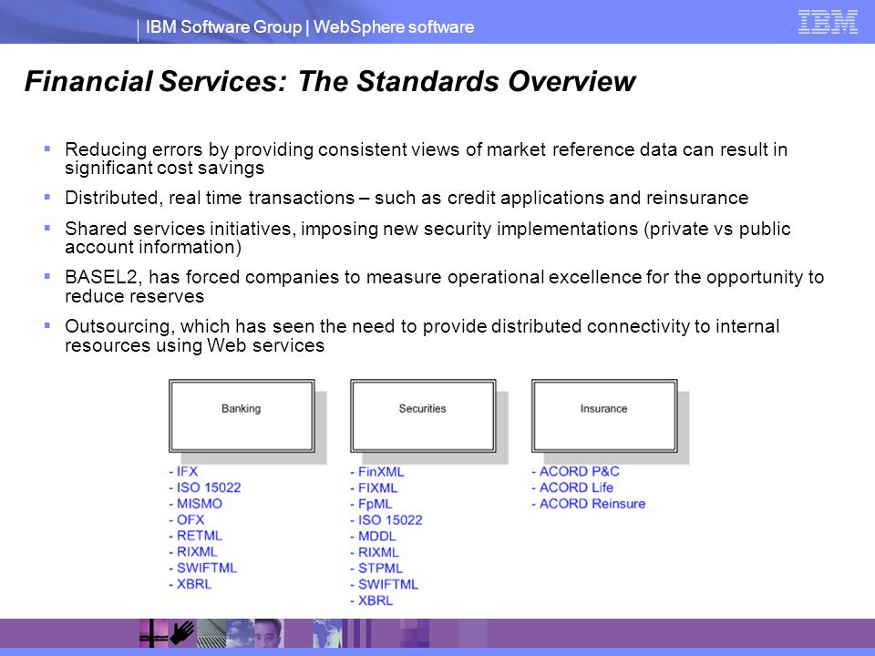 Financial Services: The Standards Overview