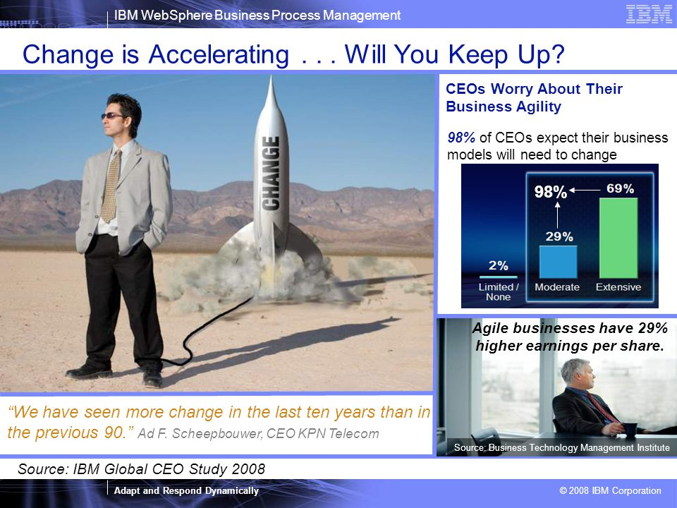 Change is Accelerating . . . Will You Keep Up