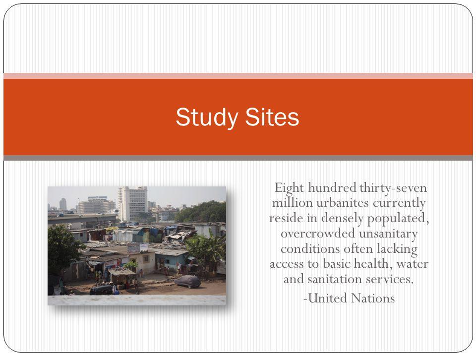 Study Sites