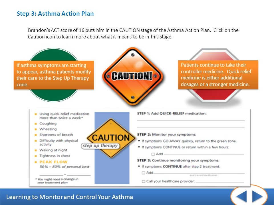 Step 3: Asthma Action Plan