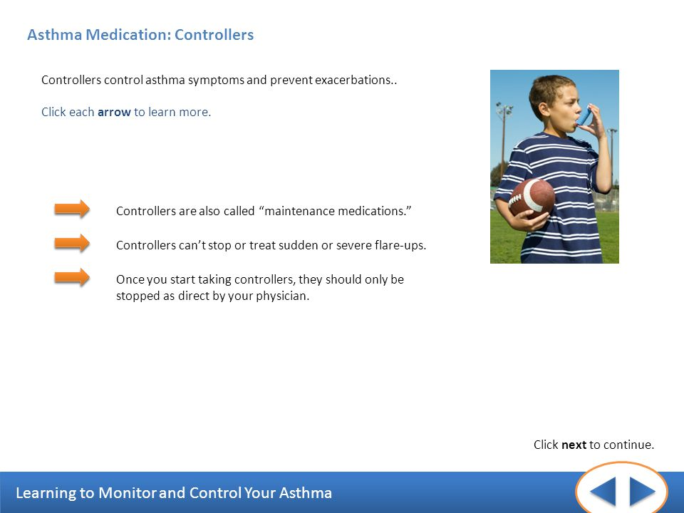 Asthma Medication: Controllers