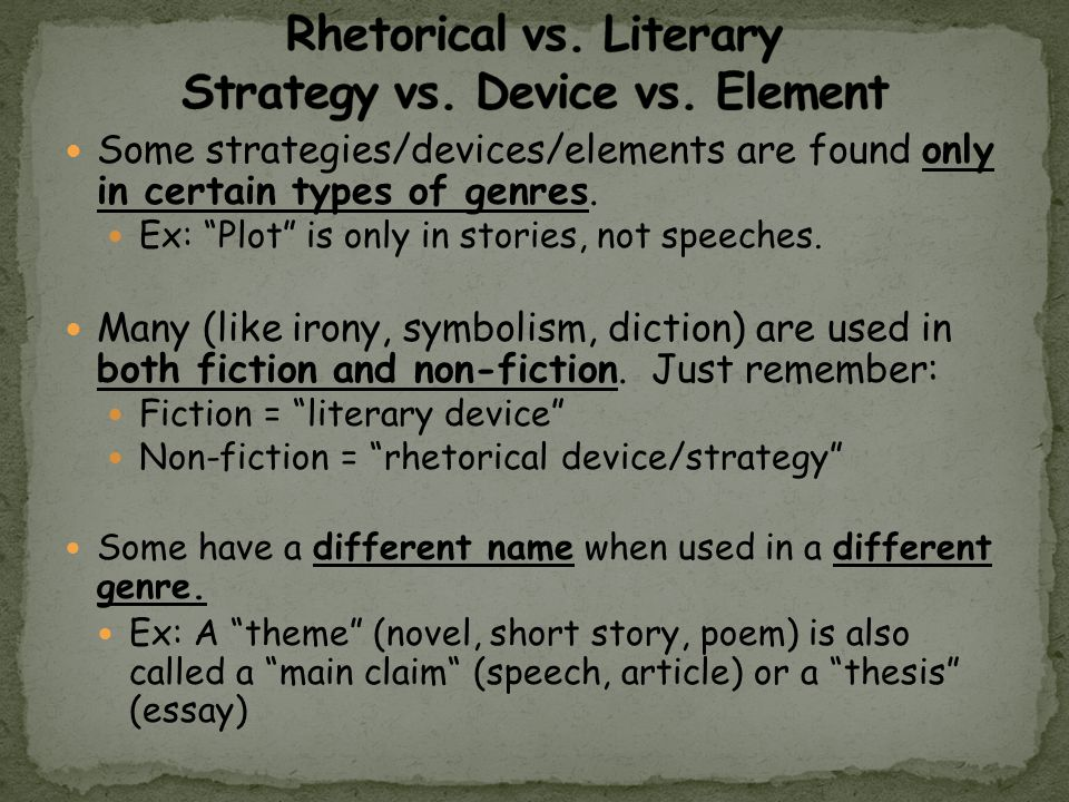 how to use rhetorical devices in an essay