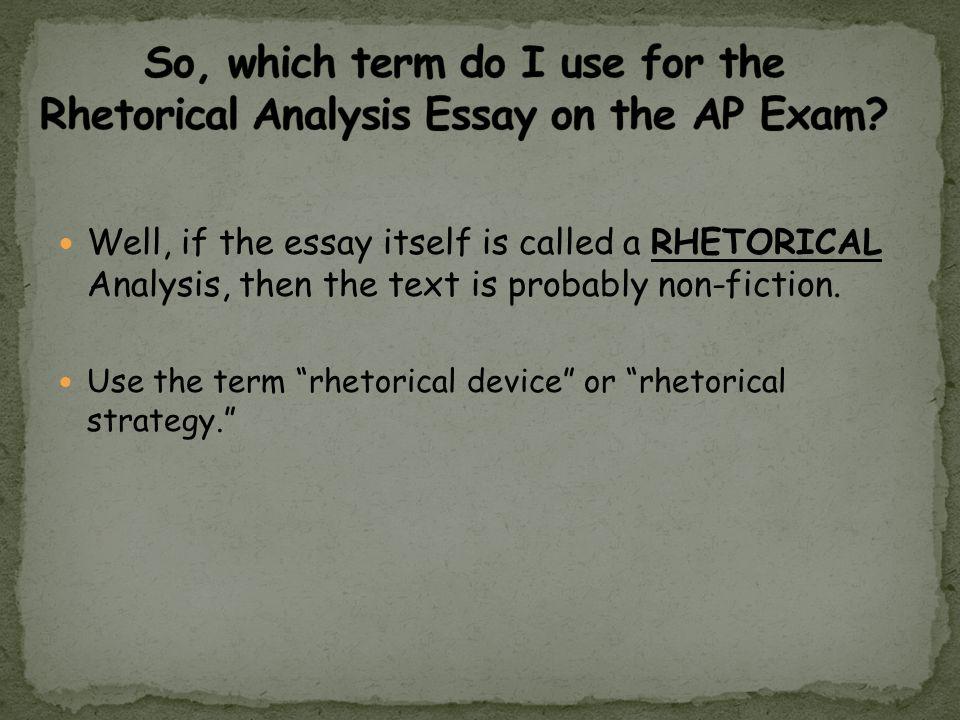 essay on exam