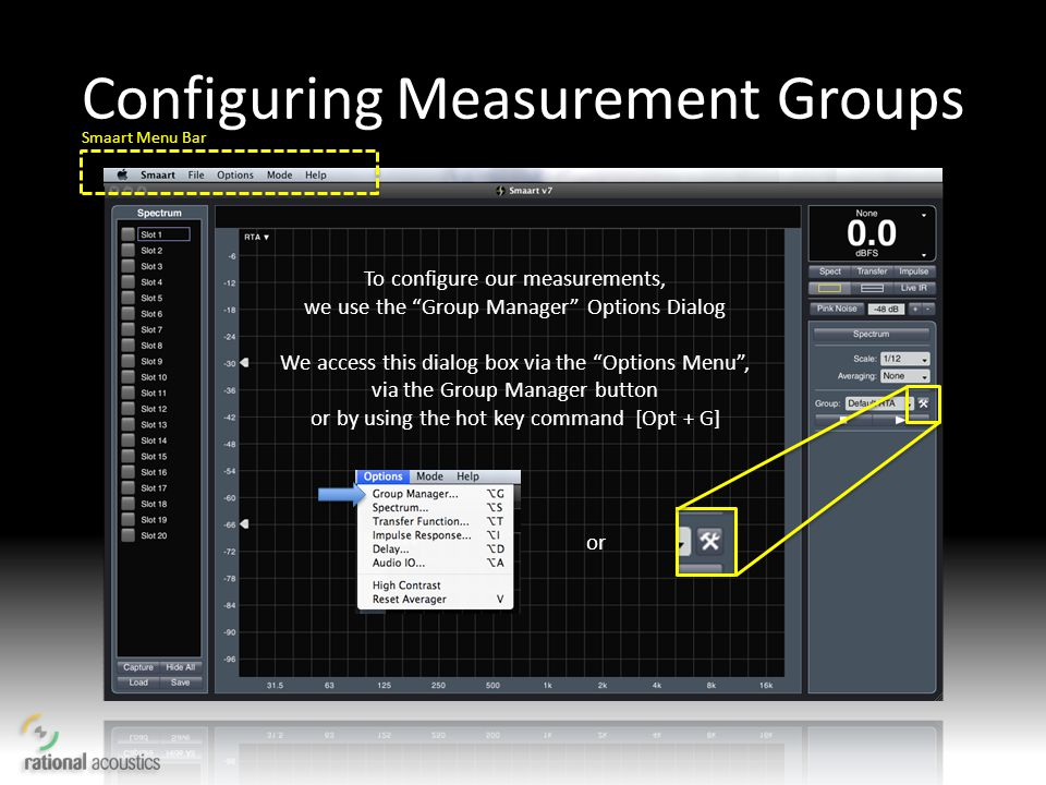 Configuring Measurement Groups