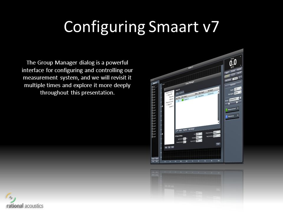 Configuring Smaart v7