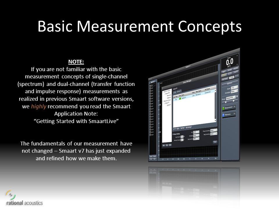 Basic Measurement Concepts