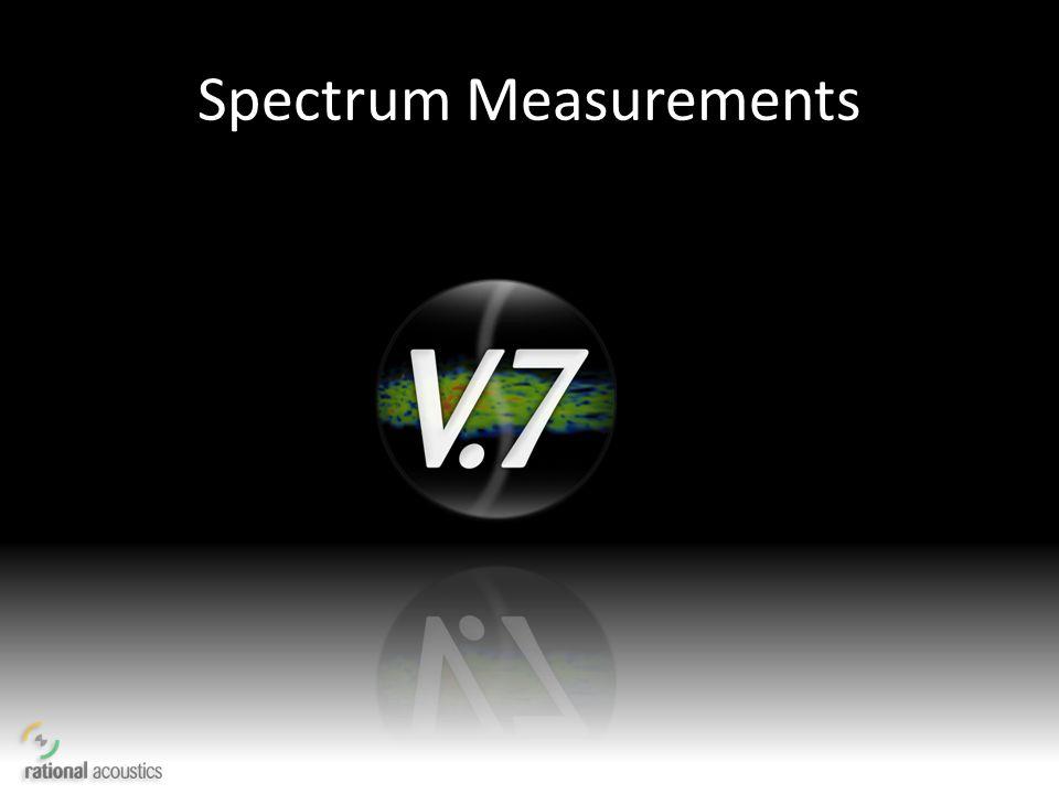 Spectrum Measurements