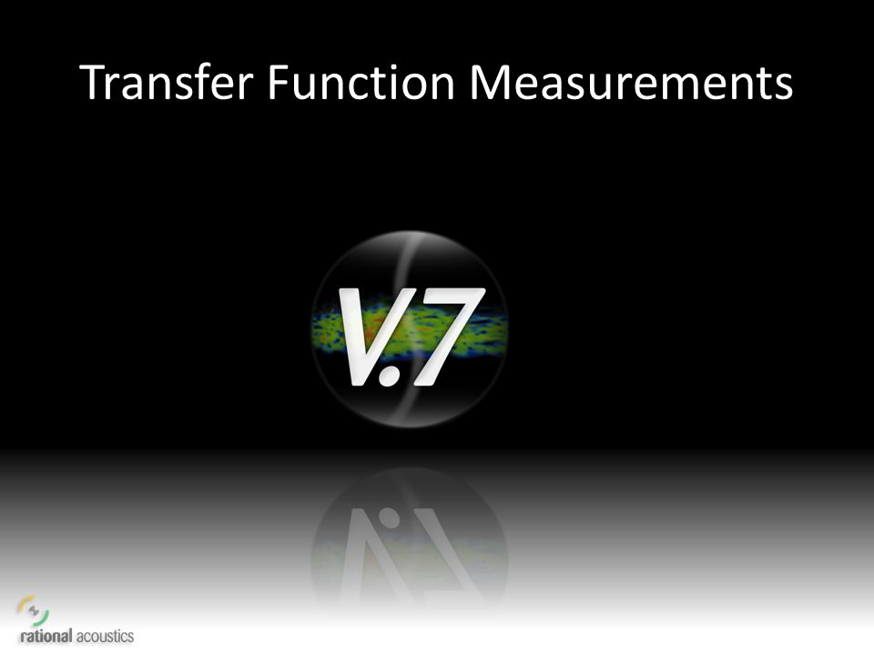 Transfer Function Measurements