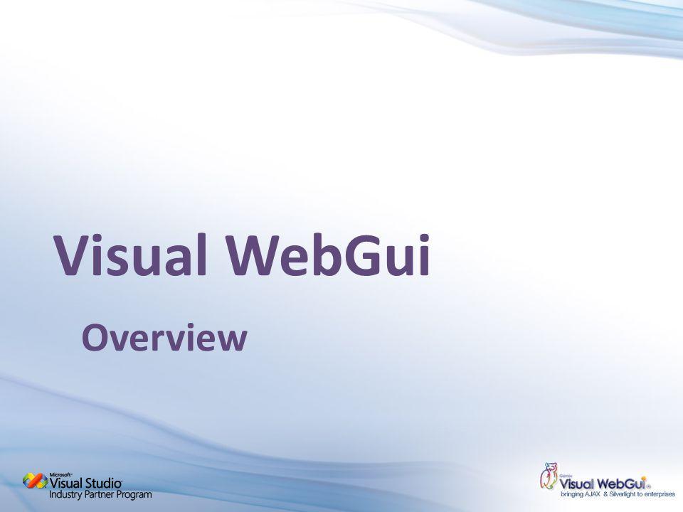 Visual WebGui Overview