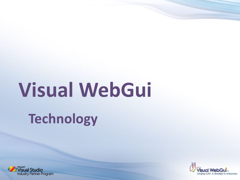 Visual WebGui Technology