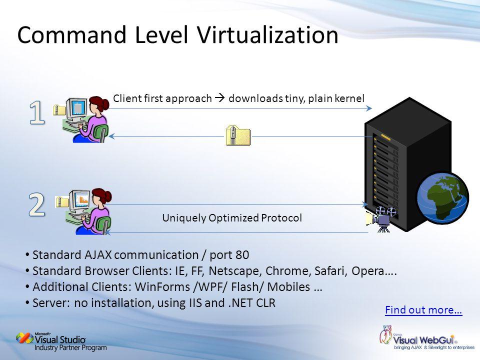Command Level Virtualization