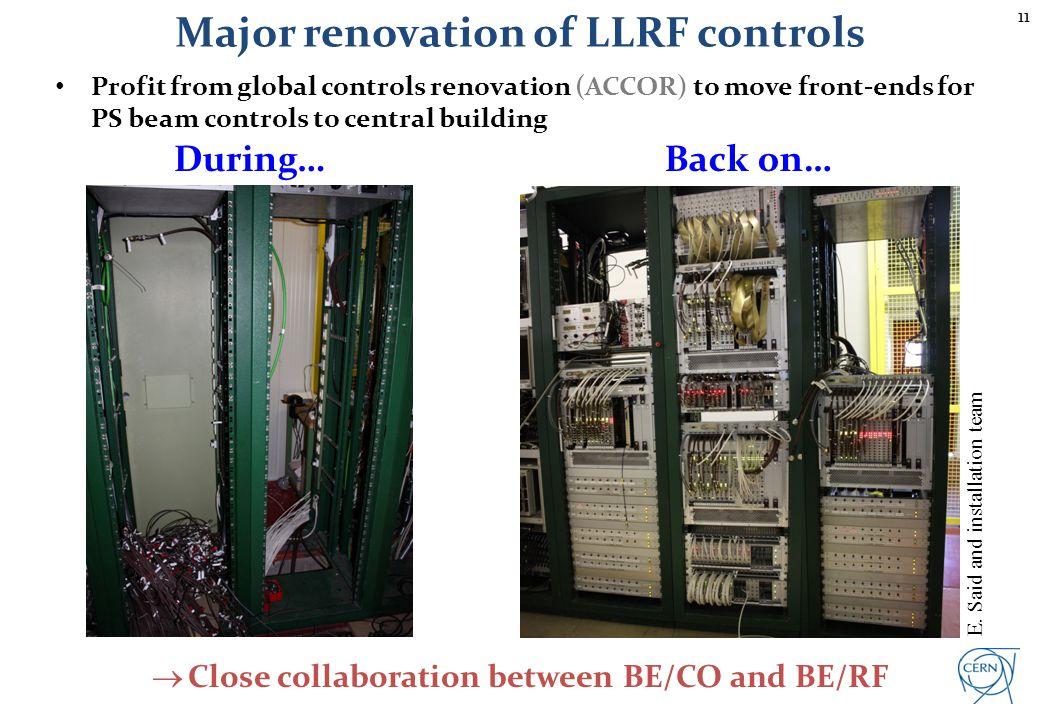 Migration of controls devices 'Transparent' migration