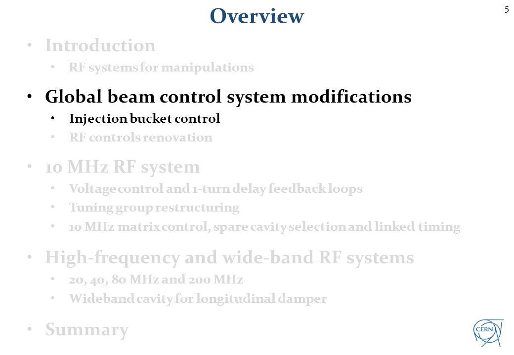 Injection bucket selection