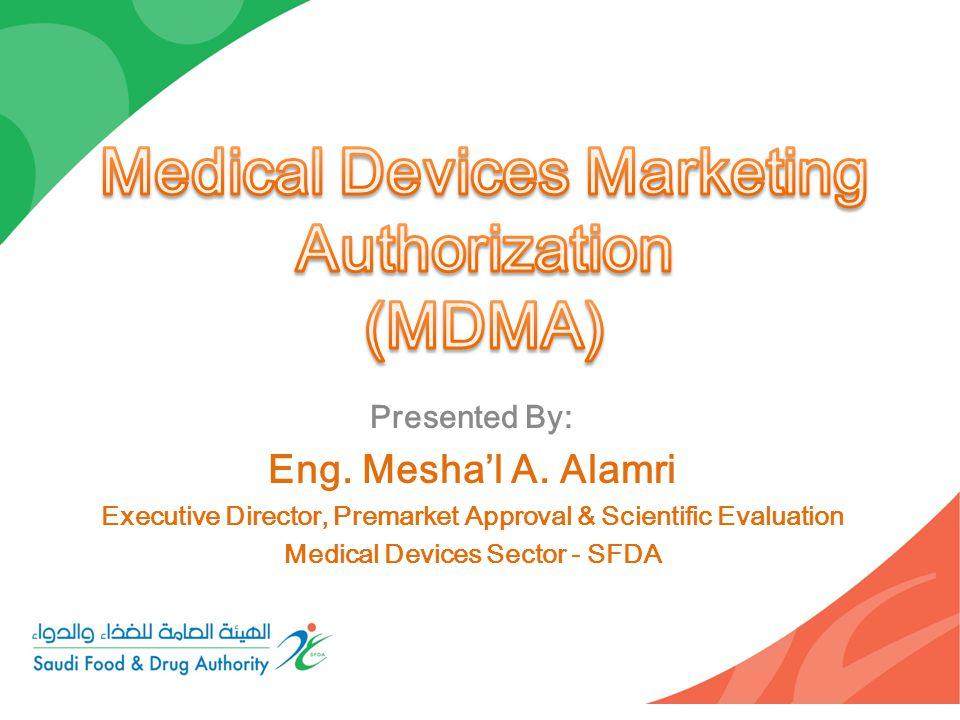 Medical Devices Marketing Authorization (MDMA)