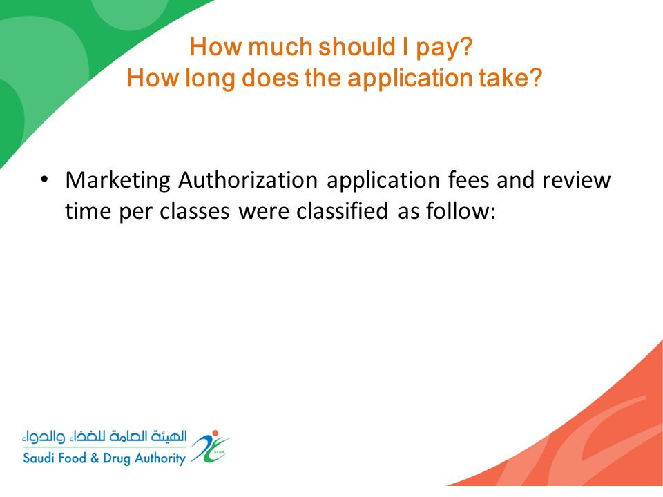 How much should I pay How long does the application take