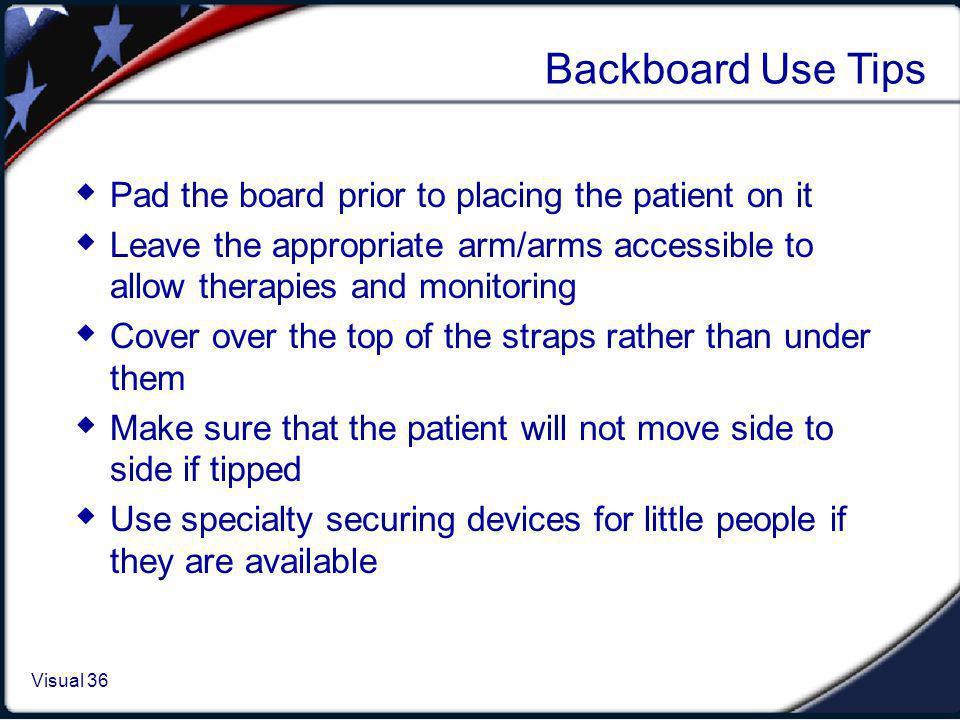Backboard Special Circumstances
