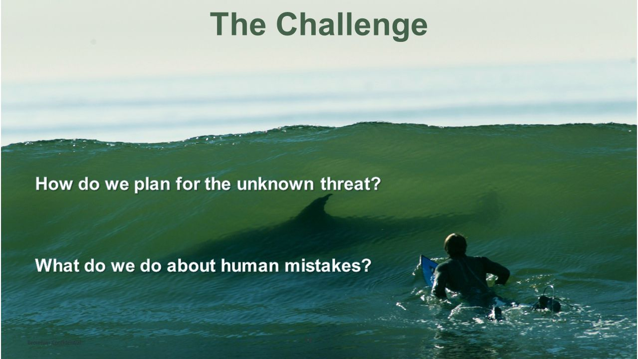 The Challenge How do we plan for the unknown threat