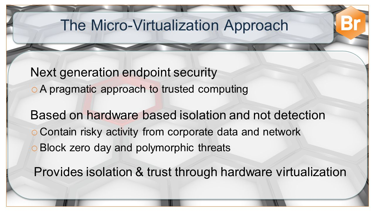 The Micro-Virtualization Approach