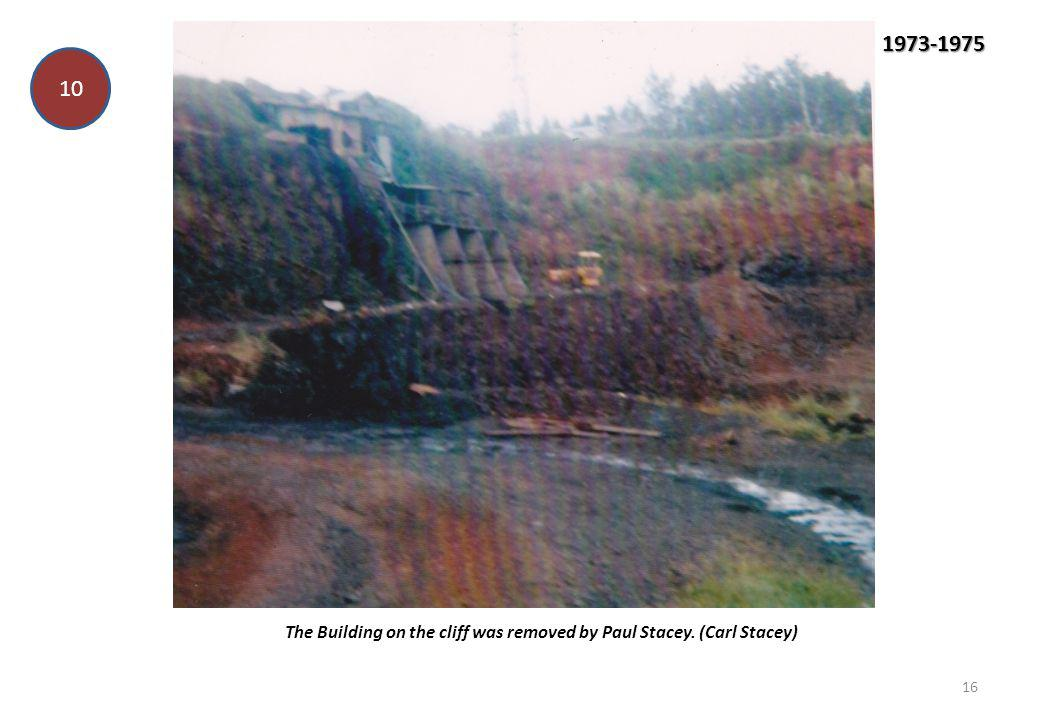 The Building on the cliff was removed by Paul Stacey. (Carl Stacey)