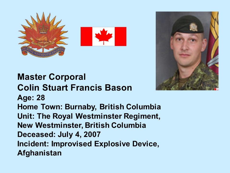Colin Stuart Francis Bason