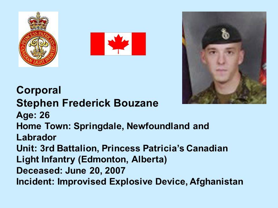 Stephen Frederick Bouzane