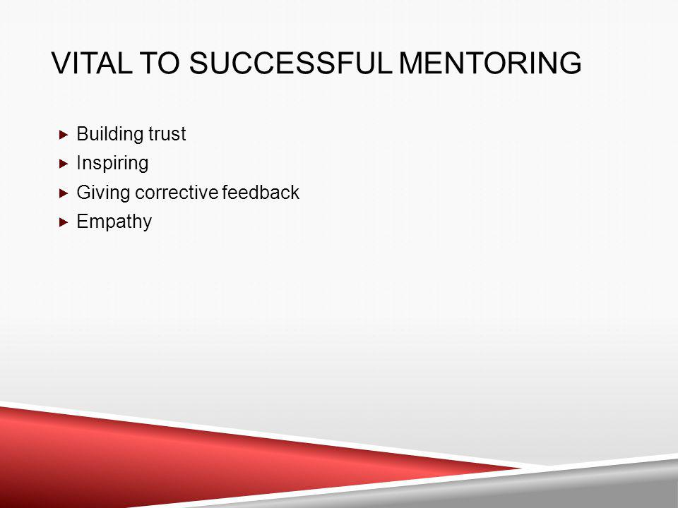 Vital to Successful Mentoring