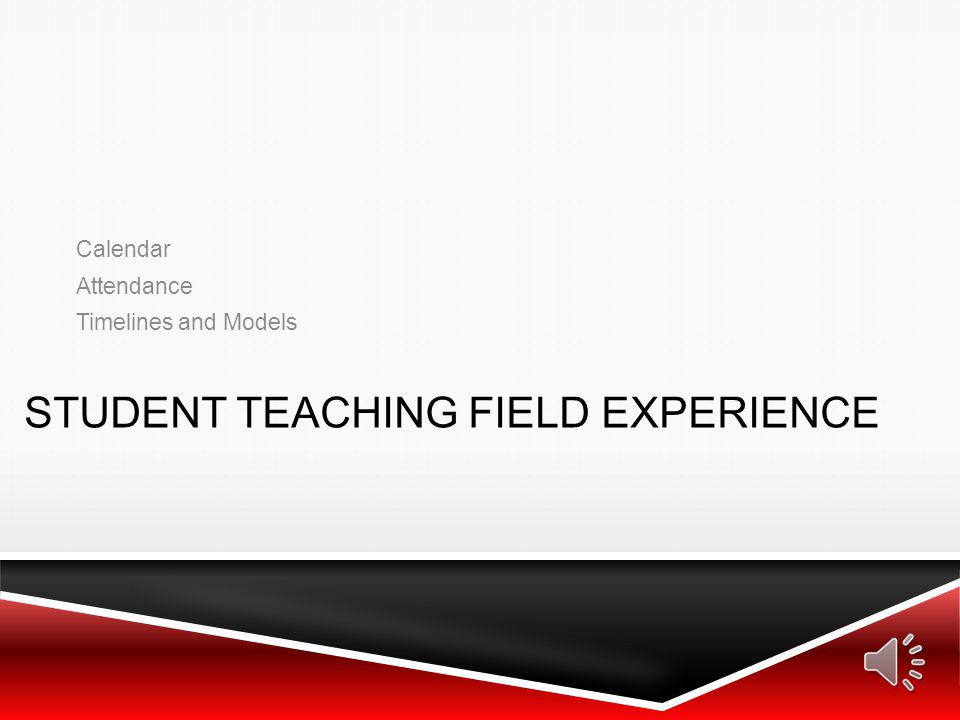 student teaching field experience