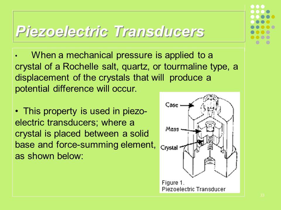 Piezoelectric Transducers